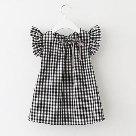 Kate Gingham Ruffle Tunic