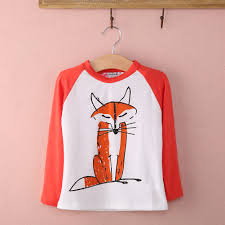 Woodland Fox Long Sleeve Shirt