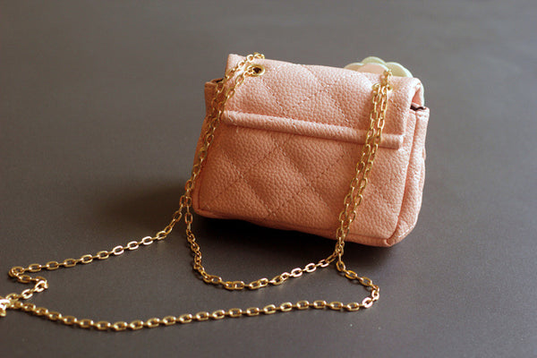 Alexsandra Quilted Purse with chain