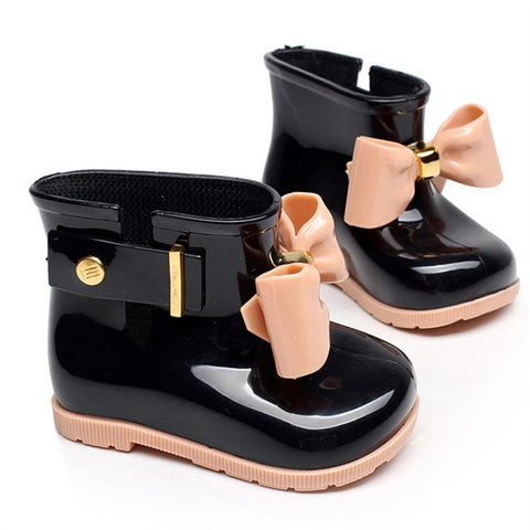 Elizabeth Mini Rain Boots with Bow