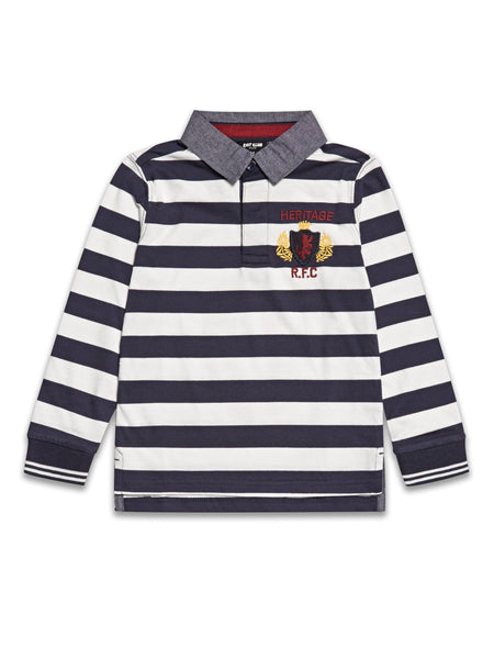 Boys Rugby Cotton Shirt