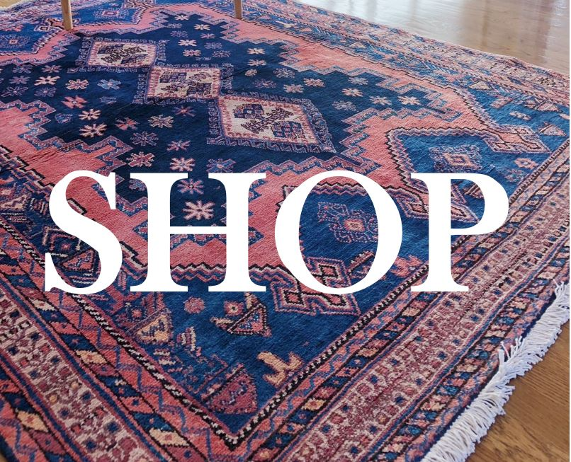 Curated vintage and antique rugs