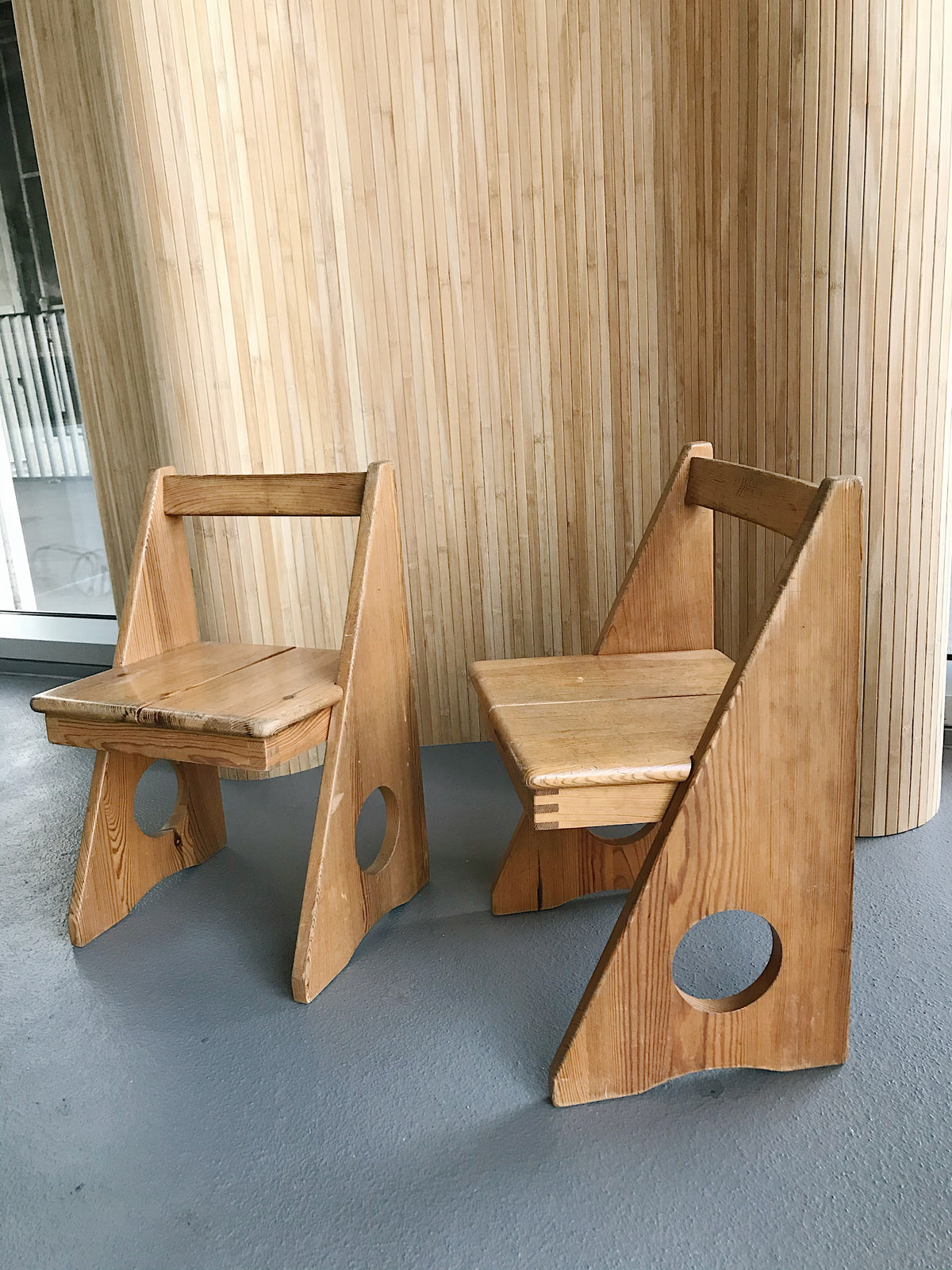 Kids Chair Set by Gilbert Marklund, 1960s