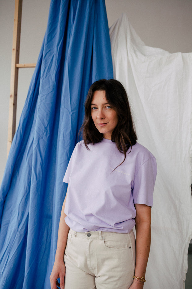 The Sunday Surf Society Tee Lavender