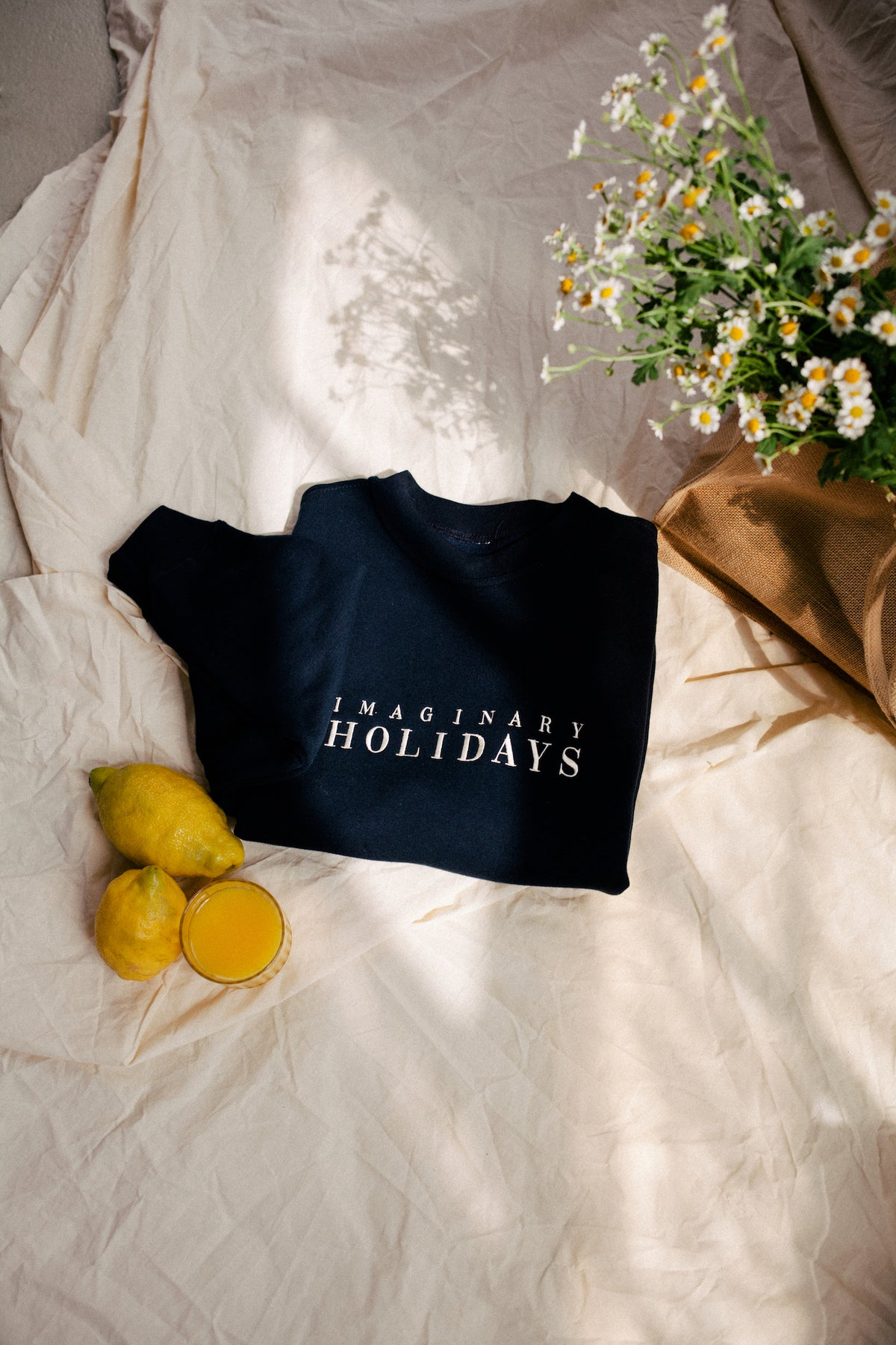 The Imaginary Holidays Sweater Navy