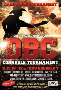 DBC4 Cornhole Tournament at BNS 11/12/16