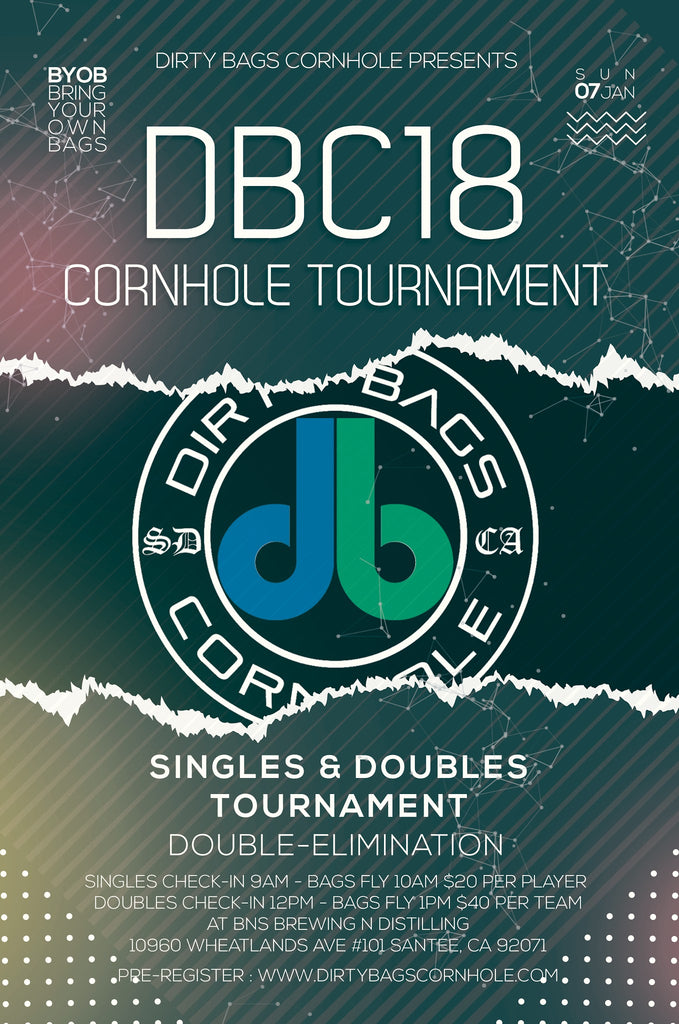 DBC 18 CORNHOLE TOURNAMENT - SAN DIEGO