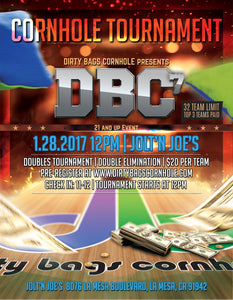 DBC7 - SAN DIEGO CORNHOLE TOURNAMENT 1.28.17