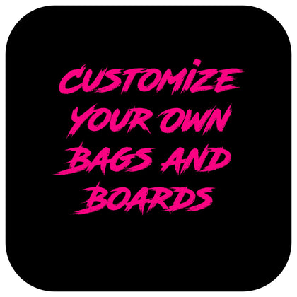 Custom Cornhole Bags (Game Changers, All Slides, Slide Rites)