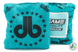 American Cornhole Bags - Dirty Bag Cornhole Star Game Changers Teal