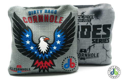 All Slides - American Cornhole Bags - American Eagle (Half Set)