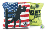 All Slides - American Cornhole Bags - Lineman edition (Half Set)