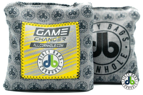 Game Changer Cornhole Bags - db Pattern and Color Patches (Half Set)