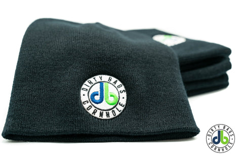 Dirty Bags Cornhole Beanie - Black