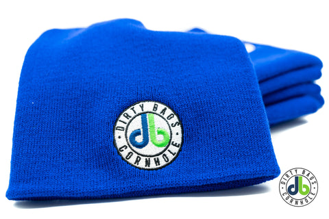 Dirty Bags Cornhole Beanie - Royal Blue