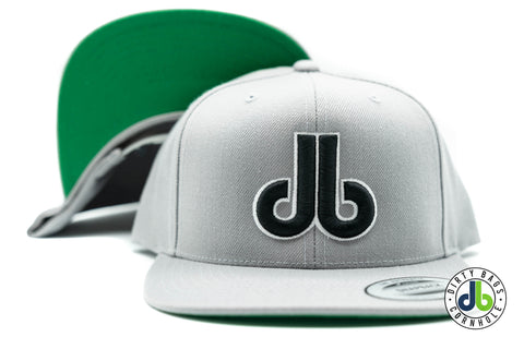 Gray Hat with Black and White db