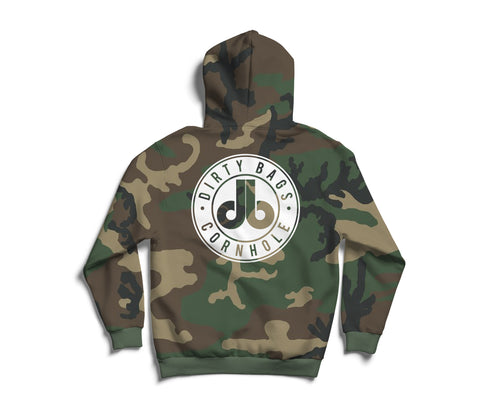 White Out db Hoodie - Camouflage