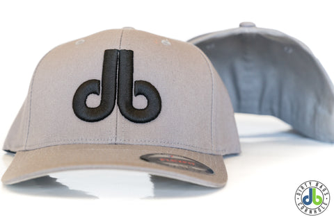 db hat - Gray and Black
