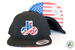 db hat - Merica db hat with white trim