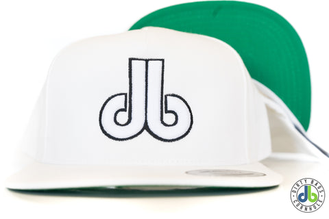 db hat - Whiteout