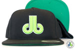 db hat - Neon Green