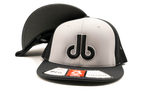 db Hat - Gray and Black Richardson PTS20M