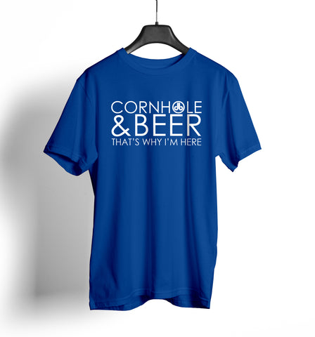 Cornhole and Beer T Shirt