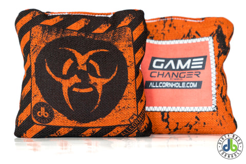 Game Changer Cornhole Bags - db Biohazard (Half Set)