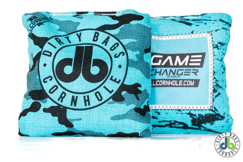 Game Changer Cornhole Bags - db Camo edition (half set)