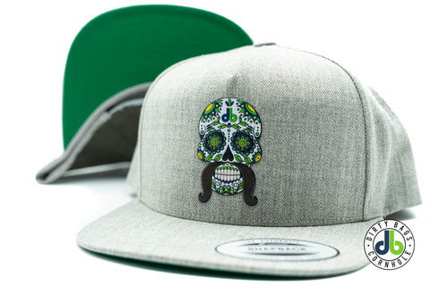 db Sugar Skull Hat - Heather Gray