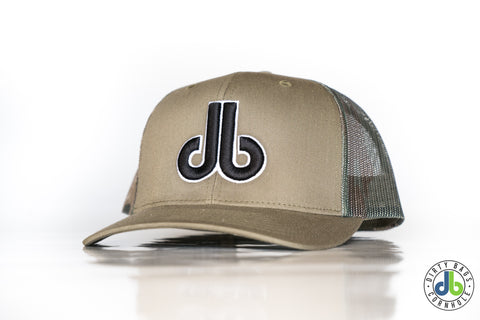 db Hat – Green Camo Mesh