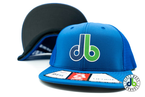db Beveled Patch Hat - Richardson PTS20M Flexfit