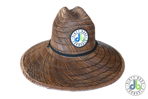 db Straw Hat - Dark Brown
