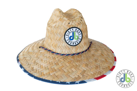 db Straw Hat - Merica