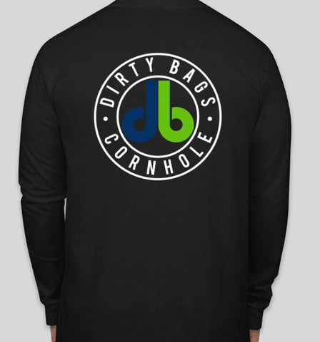 Long Sleeve Shirt with db logo - Black