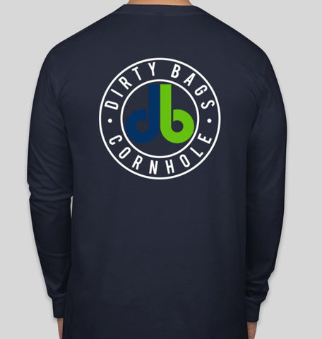 Long Sleeve Shirt with db logo - Navy Blue