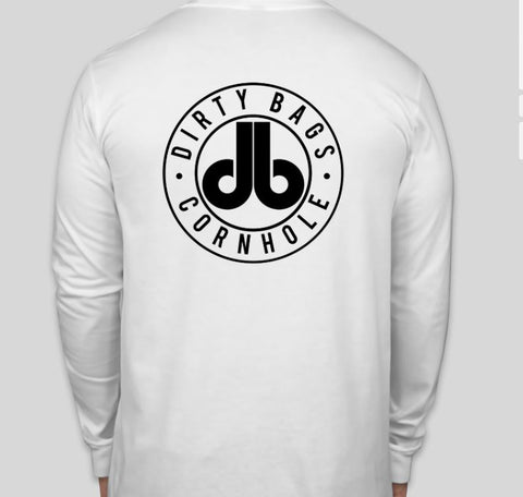 Long Sleeve Shirt with db logo - White
