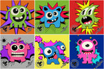 All Slides - Kids Collection - Little Monsters