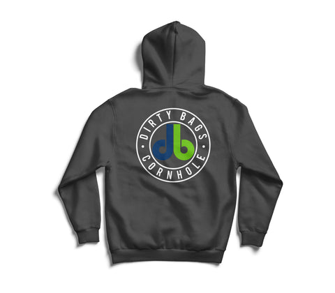 db Hoodie - Dark Gray with Color Logo