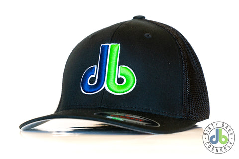 db Hat – Black on Black with color db