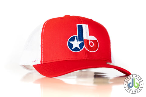 Dirty Bags Cornhole hat - States Collection TEXAS - Red