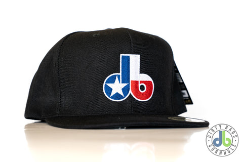 Dirty Bags Cornhole hat - States Collection TEXAS - Black Snap