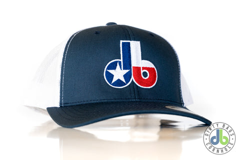 Dirty Bags Cornhole hat - States Collection TEXAS - Blue