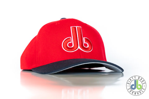 db Hat - Red and Blue db hat
