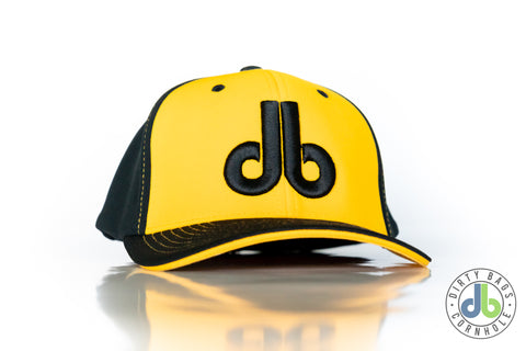 db Hat - Black and Yellow
