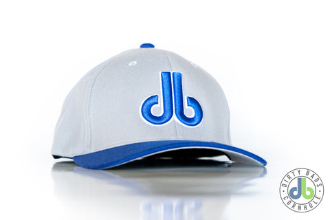 db Hat - Blue and Gray
