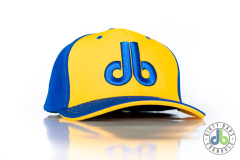 db Hat - Blue and Yellow Flexfit