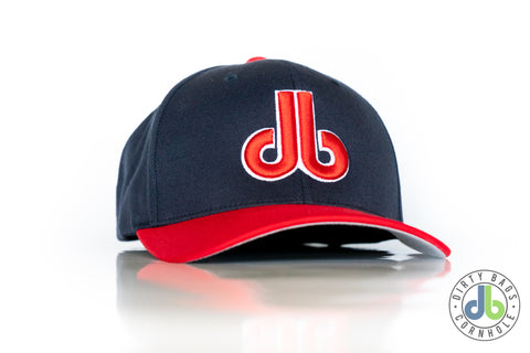 db Hat - Red and Blue