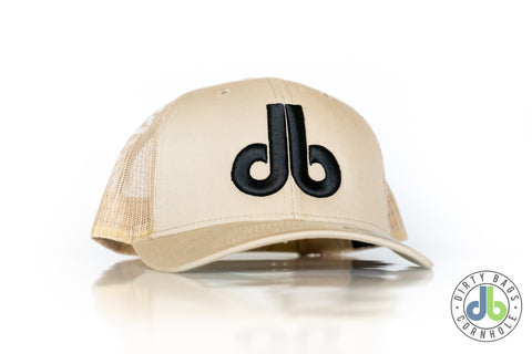 db Hat - Sand and Black