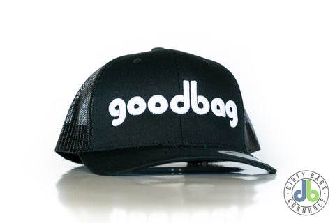 "db Hat - Black ""goodbag"" snapback"